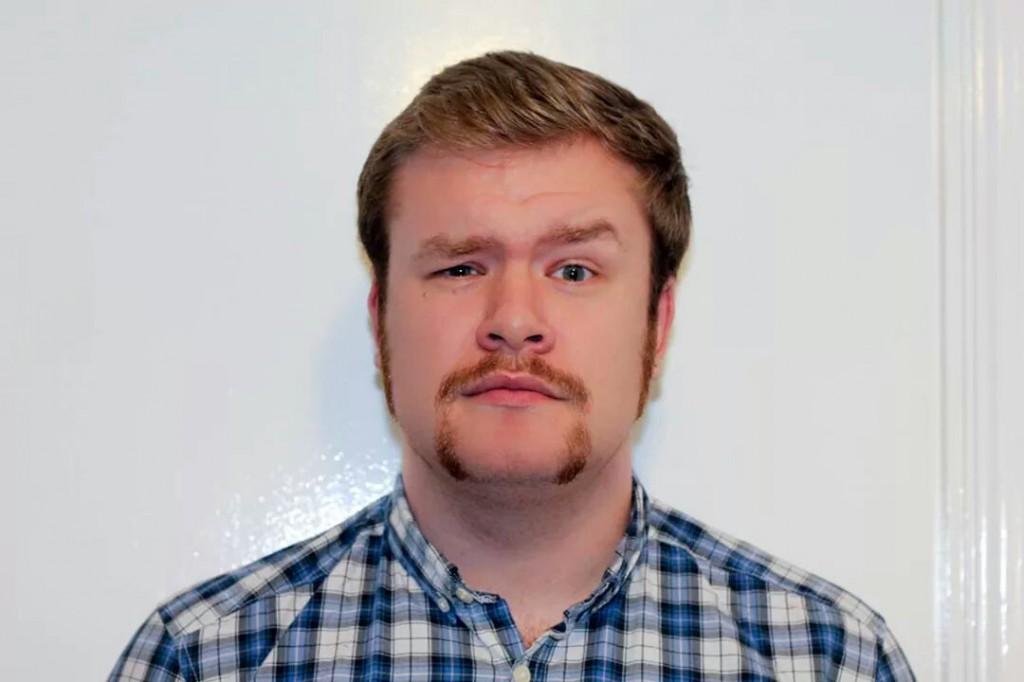 Trucker moustache